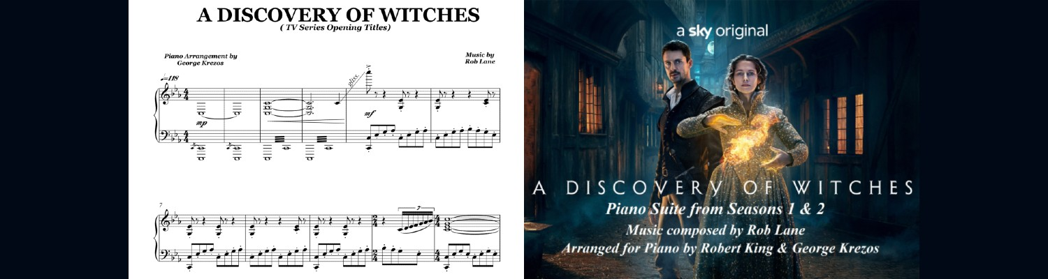A Discovery Of Witches (Piano Suite)
