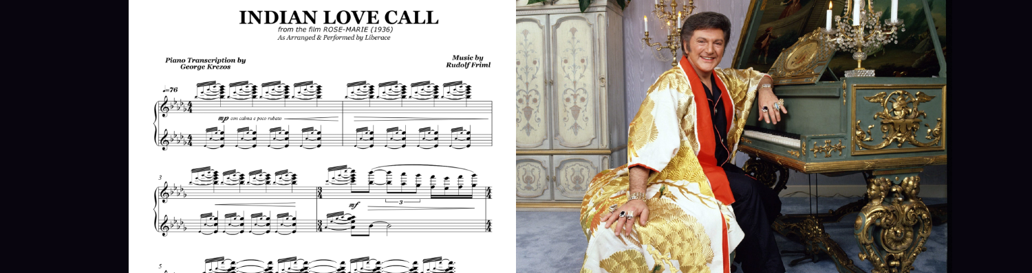 Liberace (Indian Love Call)