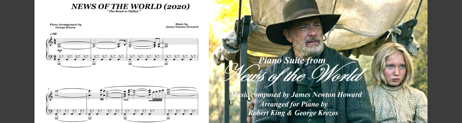 News Of The World (Piano suite) James Newton Howard