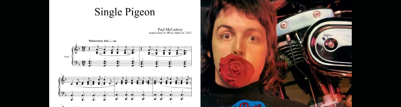 Single Pigeon by Paul McCartney