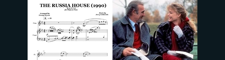 The Russia House (Katya) flute & piano  duet