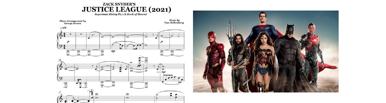 Justice League Piano Suite