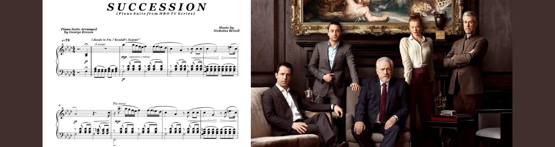 Succession HBO Piano Suite
